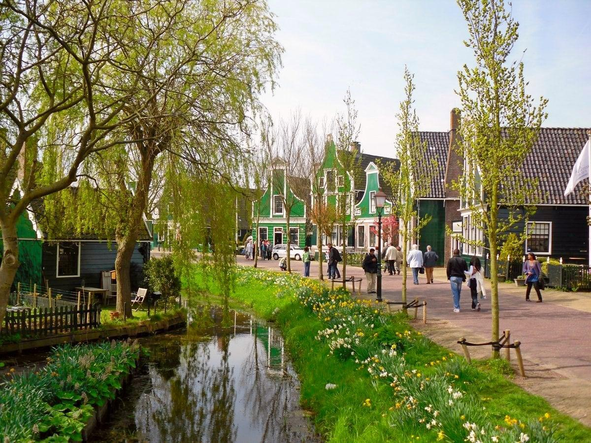 Zaanse Schans, the Netherlands, Amazing Verdure