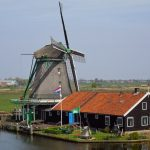 Zaanse Schans, the Netherlands, Imposing Windmill, Featured Image