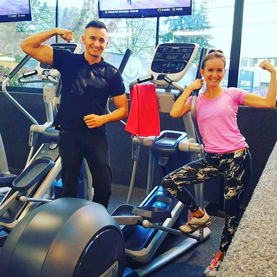 Anita Brocka, Mindset Coach, Fitness, Ani and Peter, Gym