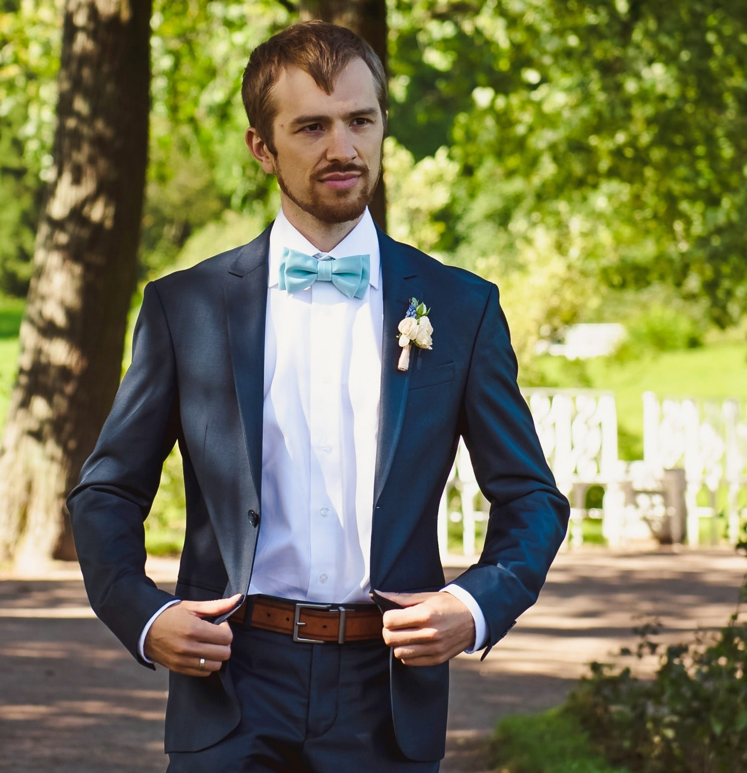 Young Entrepreneurs Talk, Andrew Walton, Wedding Suit, Park
