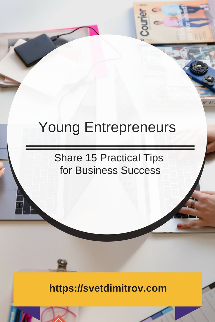 Young Entrepreneurs, 15 Practical Tips for Business Success, Featured Image