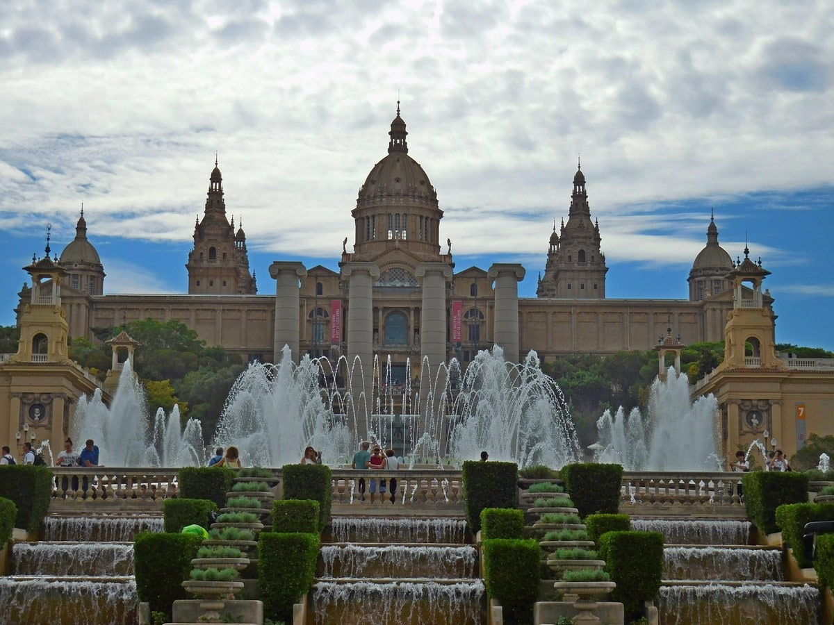 National Museum of Catalan Art, Monjuic, Magic Fountains