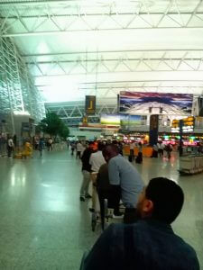 China Travel Tips, Airport Queue Line, Guangzhou, Guangdong